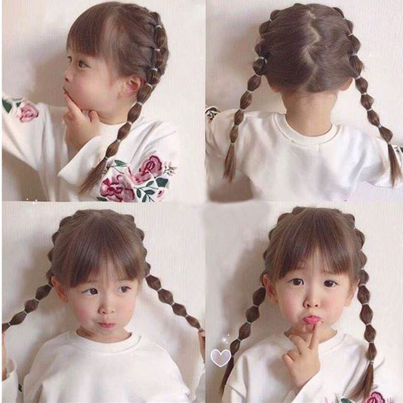 600pcs/lot Korean Candy Color Headwear Hair Ring Ropes Ponytail Holder Disposable Elastic Hair Bands for Girls Hair Accessories akwzmly 20 pcs girls headband flower hair elastic bands scrunchy ponytail holder accessories bow animals pattern ropes ties