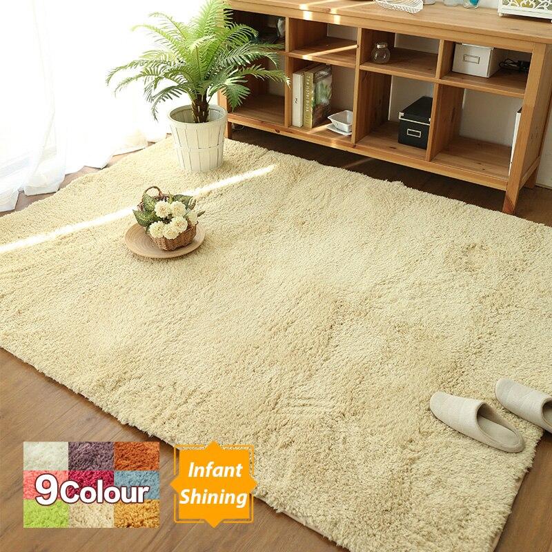 Nouveau tapis tapis personnalisé vent cachemire Pad moderne salon chambre chevet tapis rectangulaire Tatami tapis