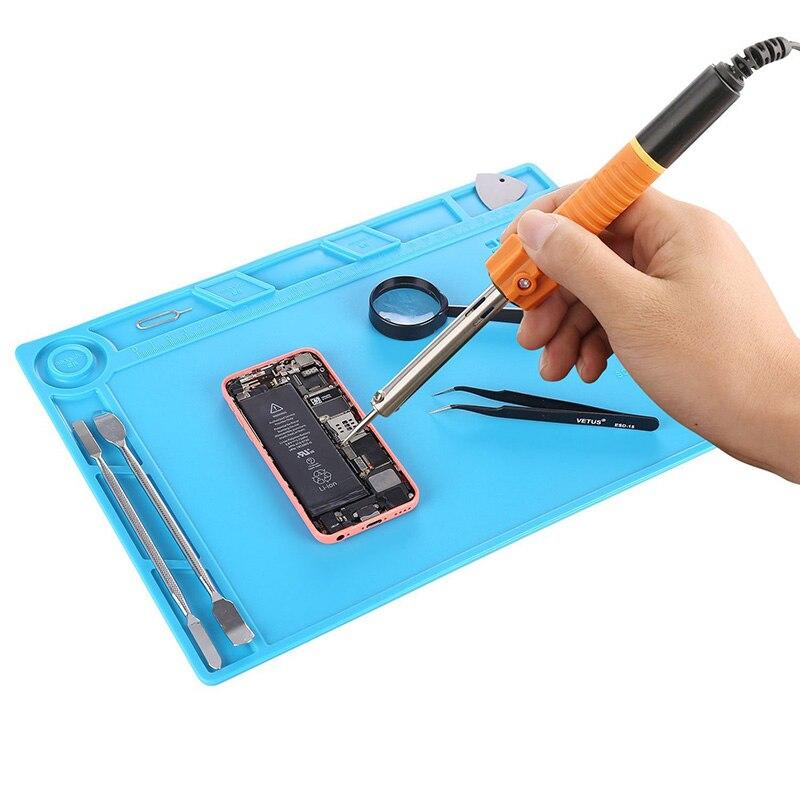 Mágneses projektjavító szőnyeg mobiltelefon javító szerszám - Szerszámkészletek - Fénykép 6