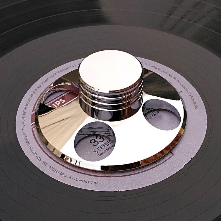 LP виниловые поворотные столы металлический диск стабилизатор запись вес зажим Щепка фонограф аксессуар