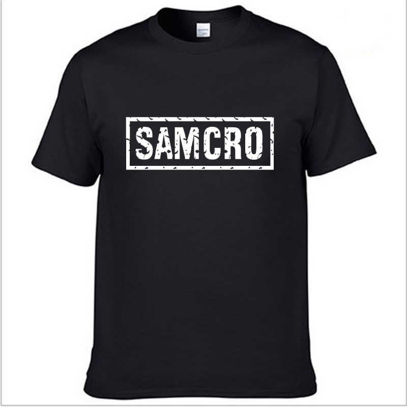 "SOA Sons of an""the child Fashion samtura T-Shirt con stampa uomo moda Harajuku HipHop manica corta cotone casual uomo Tee shirt"