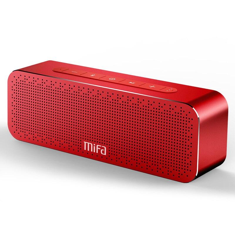 MIFA portátil Altavoz Bluetooth inalámbrica de sonido estéreo de radio de altavoces con micrófono TF AUX estéreo TWS