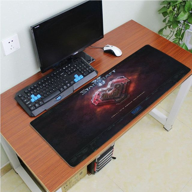 Yinuoda Beautiful Anime Starcraft Rubber Mouse Durable Desktop Mousepad Size for 180*220 200*250 250*290 300*600 and 400*900*2mm 4