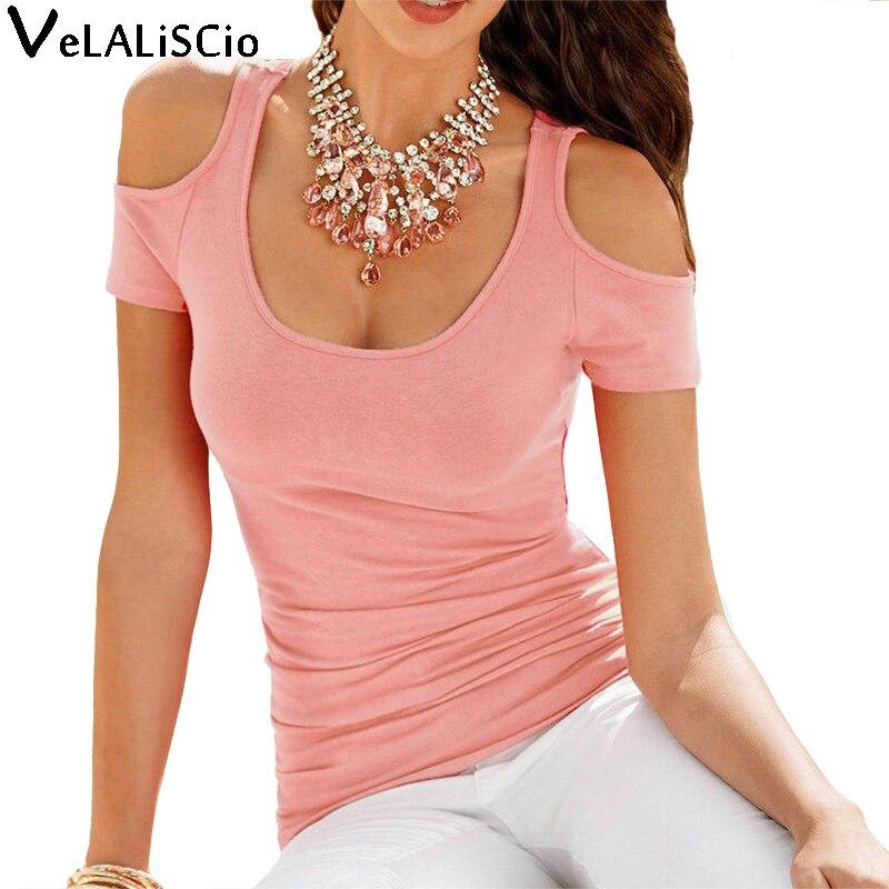 Velaliscio brand 2017 new t shirt women summer fashion for Strapless t shirt bra