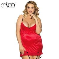 Hot Sale 5 Solid Color Women S Underwear Plus Size 6XL Babydoll Sleepwear Lenceria Erotica Sexy
