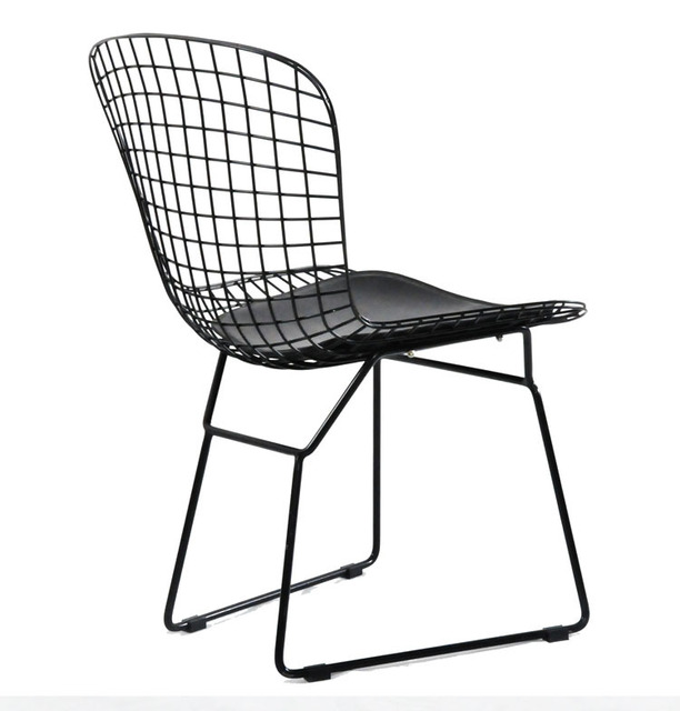 Bo Tuoai Chair Metal Wire Chairs Outdoor Lounge Chair Cafe Restaurant Chairs  Bertoia Chair
