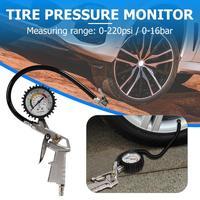 0 220 psi medidor de pressão dos pneus do carro ponteiro pressão de ar do pneu inflator inflar pressão do pneu medição do carro medidor de pressão dos pneus|Sistemas de monitoramento de pressão dos pneus| |  -