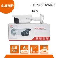 Hikvision DS 2CD2T42WD I5 4mm Lens CCTV Camera 4MP IR Bullet Network IP Camera IR 50m