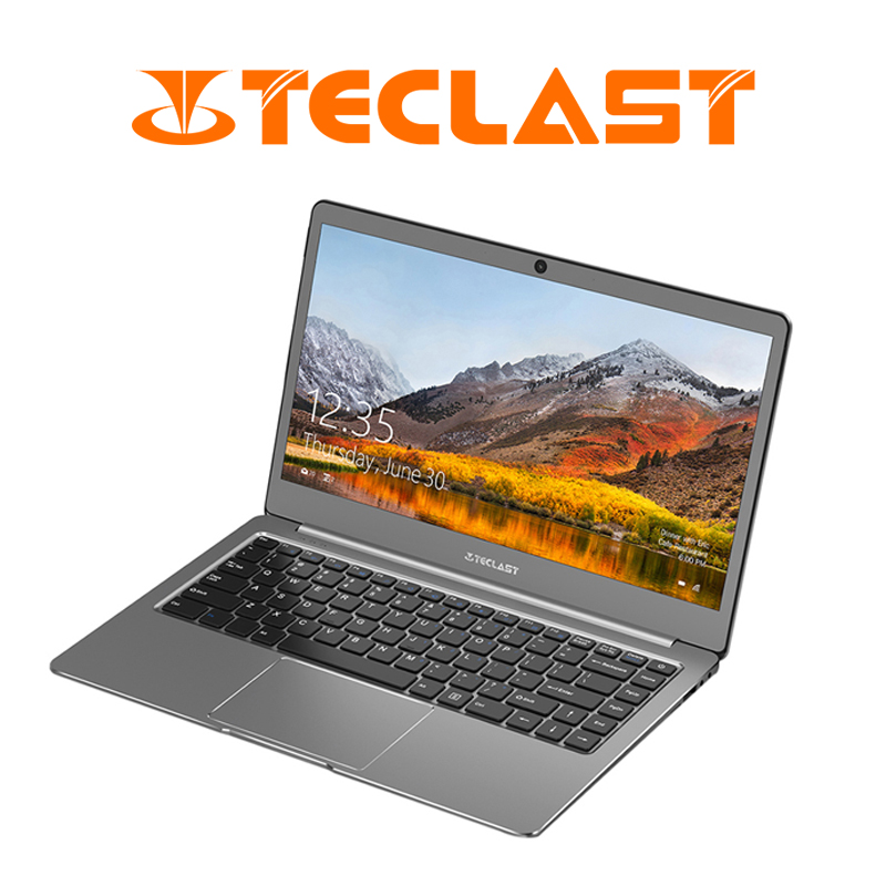 Teclast F6 Notebook 13.3 inch 1920x1080 Windows 10 6GB RAM 128GB Intel APOLLO LAKE N3450 Quad Core Laptops