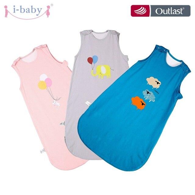 Algodão puro do saco de dormir do bebê do i bebê, grande o suficiente para caber seu bebê crescente, cobertor wearable da criança, envoltório infantil dos sacos do sono