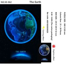 Tomax 500pcs glowing jigsaw puzzle The Earth moon
