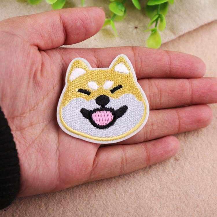 Gugutree Ricamo Cani Gatti Patch Auto Auto Pulcino Patch Badge Applique Patch per Abbigliamento YX-147