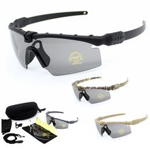 Polarized Tactical Goggles Men Outdoor Sunglasses Military A