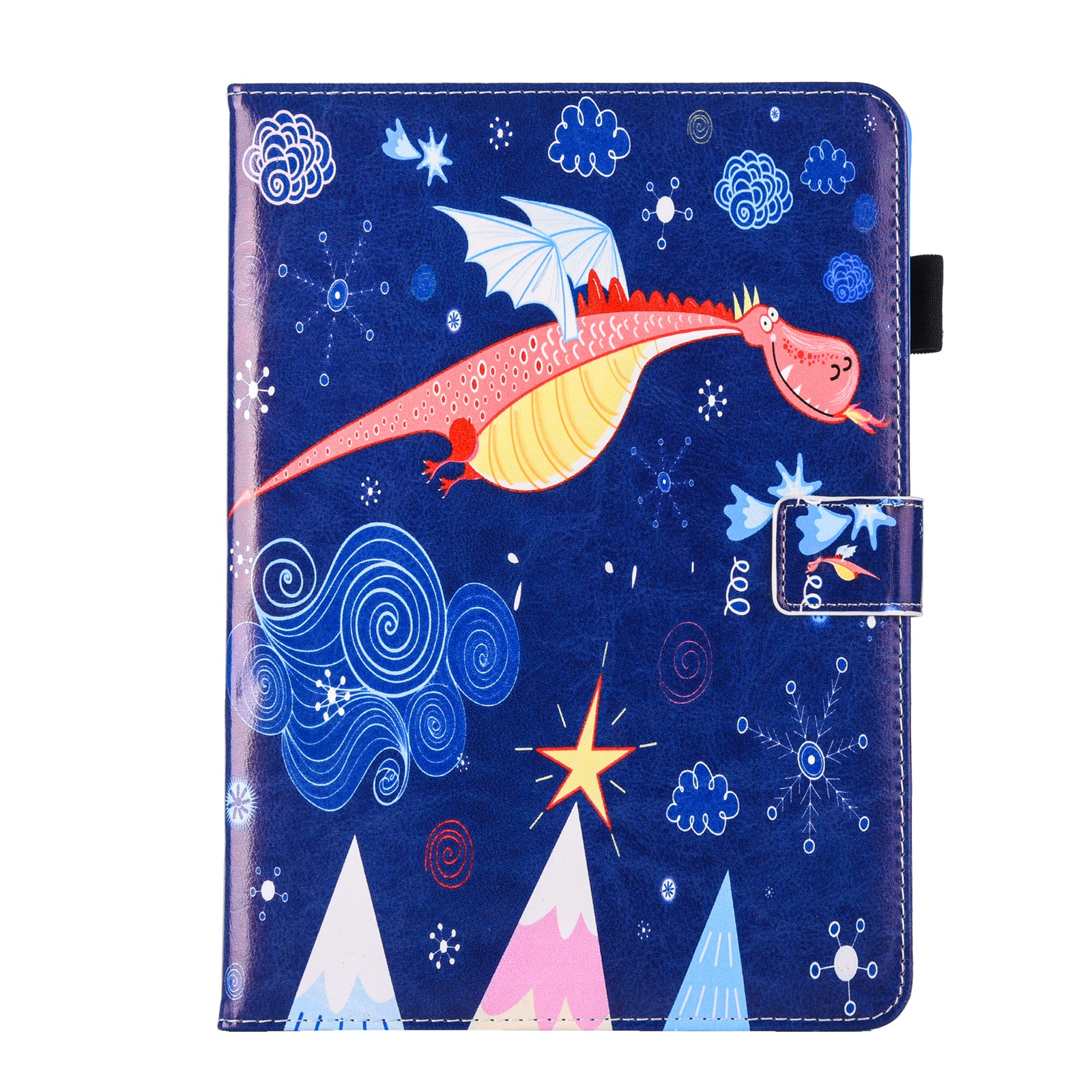 Colorful Print PU leather Case For Samsung Galaxy E 9.6 inch T560 T561 SM-T561 SM-T560 model tablet Case Flip Stand Smart Case