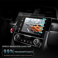 Vehemo HD GPS Screen Protector Car Styling Mp5 Tempered Glass Clear Navigation Car DVD Protective Films