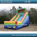 Tobogán inflable gigante para adultos en venta PVC tobogán inflable juguetes inflables con tobogán inflable soplador de China