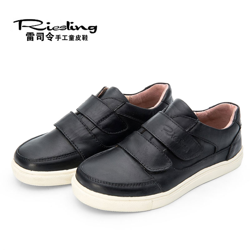 Genuine Leather Handmade Children Shoes Breathable Soft Girls Boys Shoes Chaussure Enfant Children Leather Shoes Hook Loop warm от Aliexpress INT