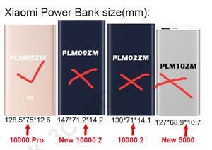Image 4 - 100% Original Xiaomi Mi ngân hàng điện 10000 mah Pro Protetive case PU Leather Pouch Bìa Mi 10000 powerbank pro trường hợp (không có PowerBank)