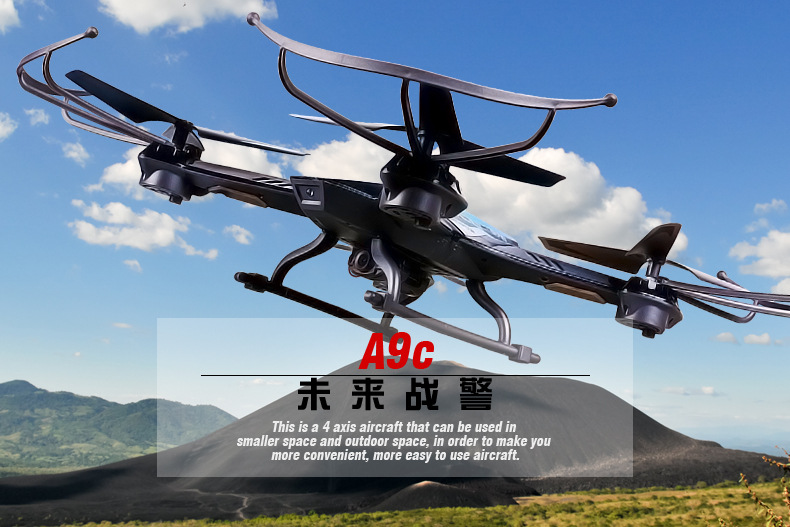 Original Rc Aircraft DRONE YD-A9 2.4G 6-aixs Gyro 4Ch Remote Control Helicopter Quadcopter With 2MP Camera VS JD509G RC Drone original rc aircraft drone yd a9 2 4g 6 aixs gyro 4ch remote control helicopter quadcopter with 2mp camera vs jd509g rc drone