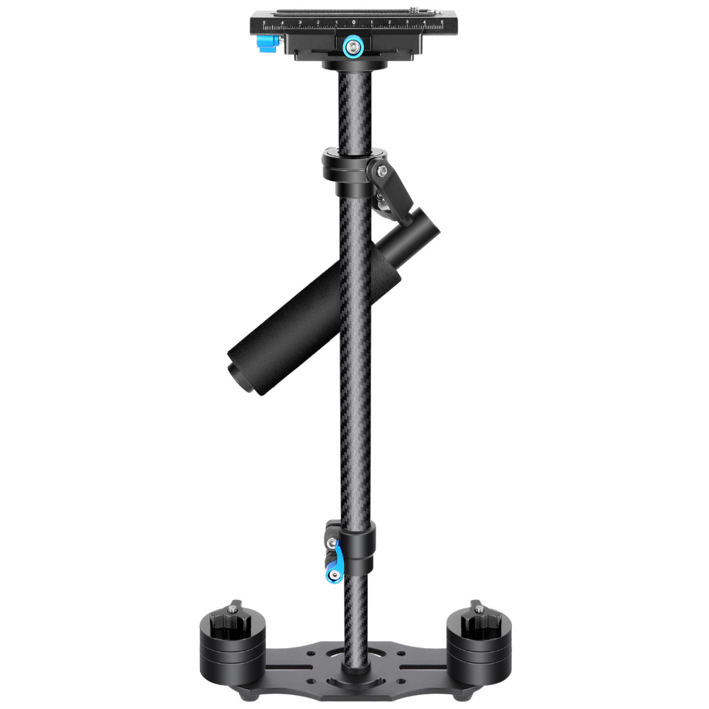 Neewer Carbon Fiber 24 inches/60cm Handheld Stabilizer1/4 3/8 inch Screw Quick Shoe Plate for Canon/Nikon/Sony 1sheet matte surface 3k 100% carbon fiber plate sheet 2mm thickness