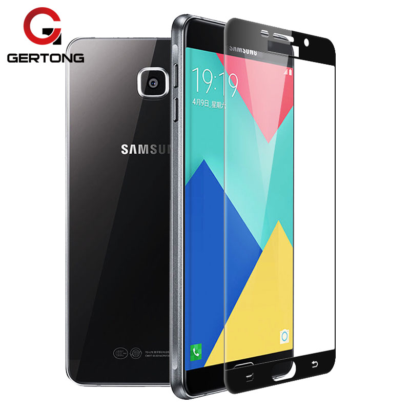 Screen Protector Tempered Glass For Samsung Galaxy A3 A5 A7 J5 2017 J3 J7 2016 Full Cover Front Film Protective Toughened Glass