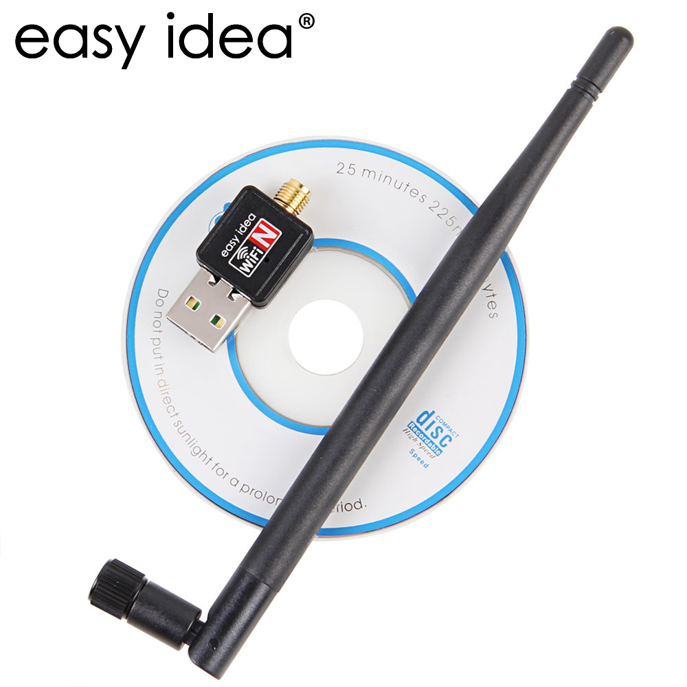 Wireless USB Wifi Adapter 5dB Wifi Dongle 150M Ethernet Wifi Receiver 802.11n/g/b USB Network Card Lan Antenna PC Wifi Adapter