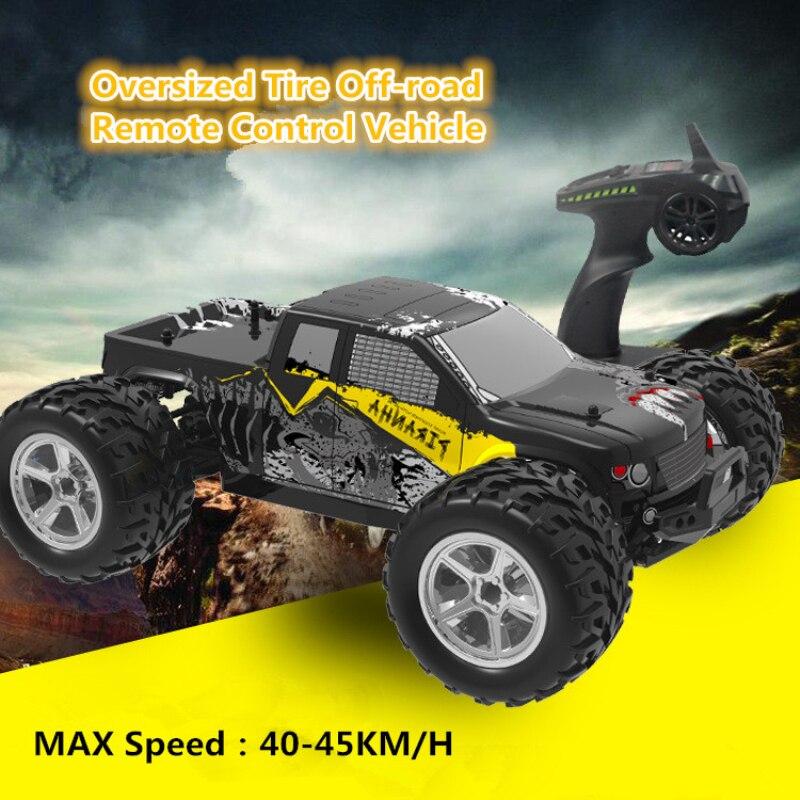 Профессиональный Гоночный Дрифт RC автомобиль 1:12 4WD Электрический Монстр Bigfoot водонепроницаемый 45 км/ч высокая скорость открытый автомобиль...