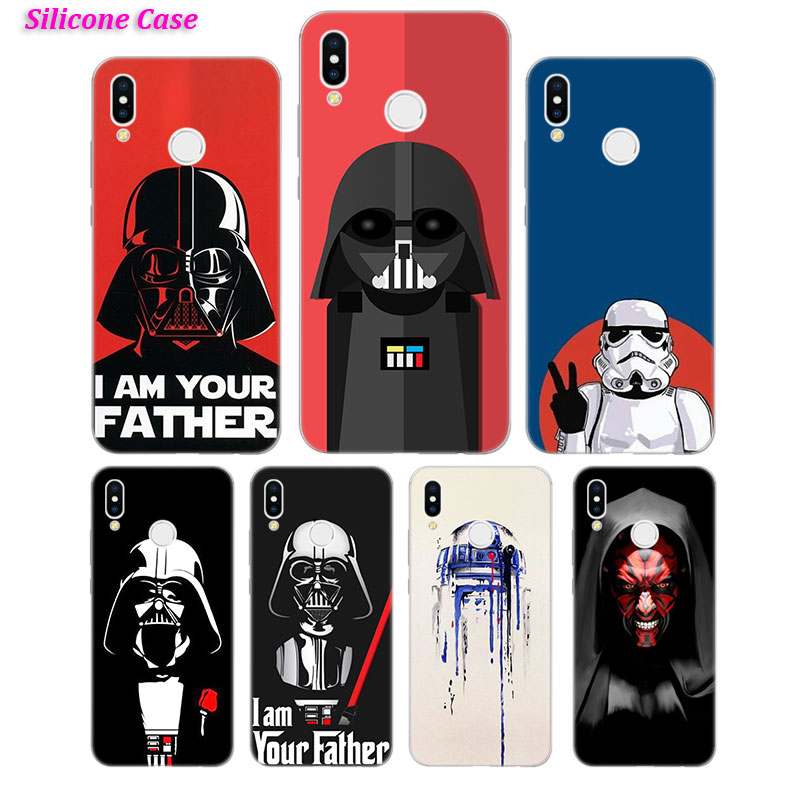 Silicone Phone Case Star wars Fashion for Huawei P Smart 2019 Plus P30 P20 P10 P9 P8 Lite Mate 20 10 Pro Lite Nova 3i Cover in Fitted Cases from Cellphones Telecommunications