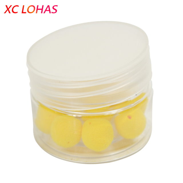 1 Box Carp Fishing Smell Bait Pop-Ups Floating Foam Balls Fishing Boilies Corn/Apple/Strawberry Flavor Baits 8/10/12/14mm
