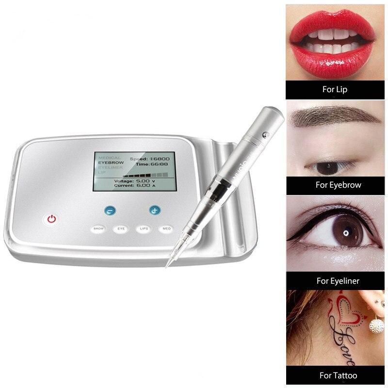FAMISOO M6 Tatoo Machine à tatouer permanente stylo rotatif dispositif de maquillage PMU MTS pour sourcil Eyeliner lèvres Microblading Tatto fournitures