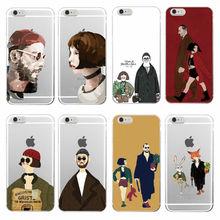 Leon Matilda Natalie Portman Movie Poster Soft TPU Phone Case Cover Coque Funda For iPhone 7plus 7 6 6S 5 5S SE 4 4S 5C Samsung