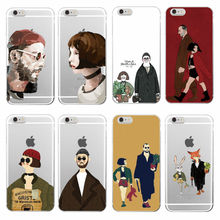 Leon Matilda Natalie Portman Movie Poster Soft TPU Phone Case Cover For iPhone 7plus 7 6 6S 5 5S SE 4 4S 5C Samsung