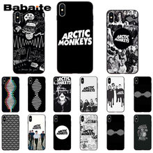 Babaite Arctic Monkeys Black TPU Soft Rubber Phone Cover for iPhone 6S 6plus 7 7plus 8 8Plus X Xs MAX 5 5S XR(China)