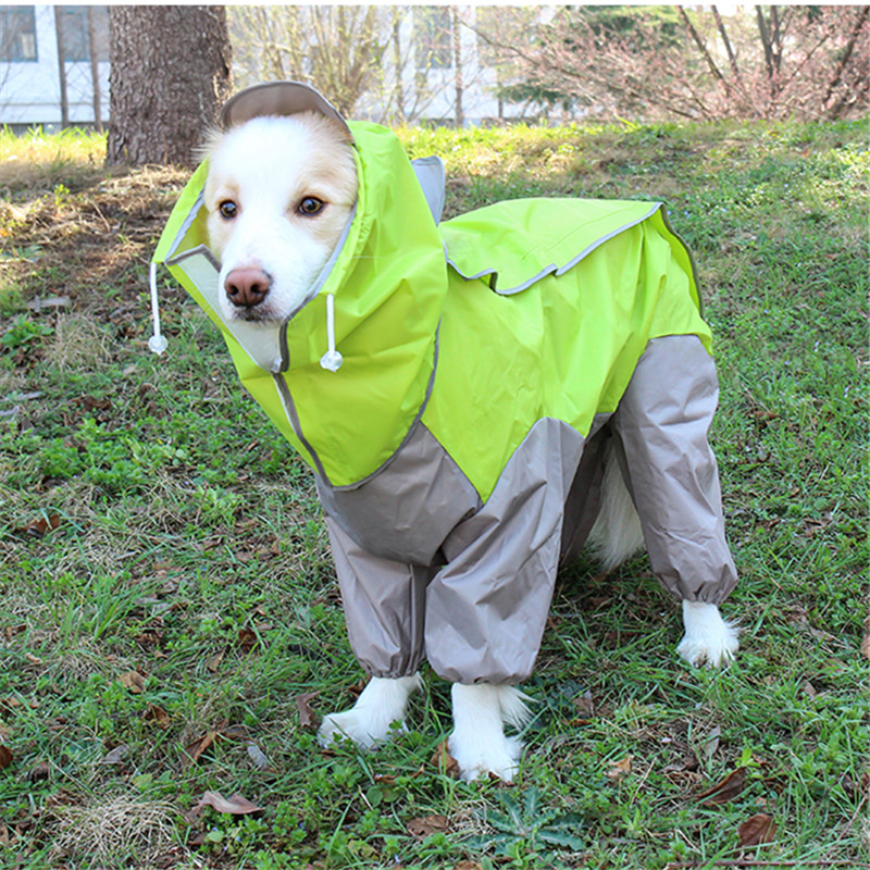 Waterproof Dog Raincoat Jacket