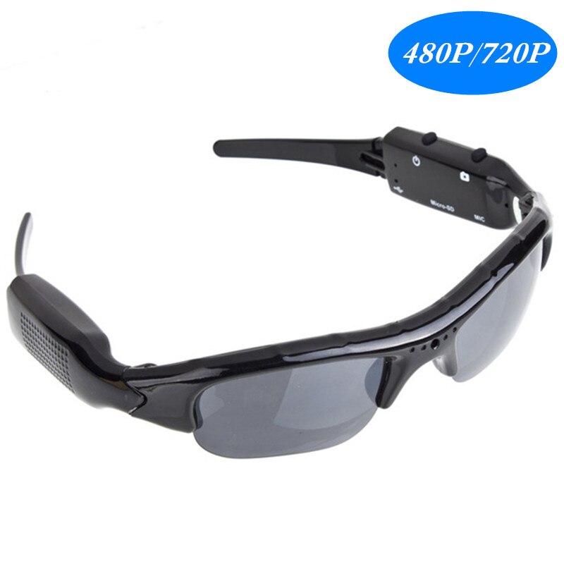 480P/720P Digital Video Recorder mini Camera DVR Eyewear Sunglasses  Camcorder Recorder