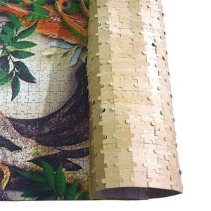 Michelangelo Holz Puzzles 500 Stück Die Mischung der Liebe Herz Art Bildungs Spielzeug Dekorative Malerei DIY Geschenk Wohnkultur