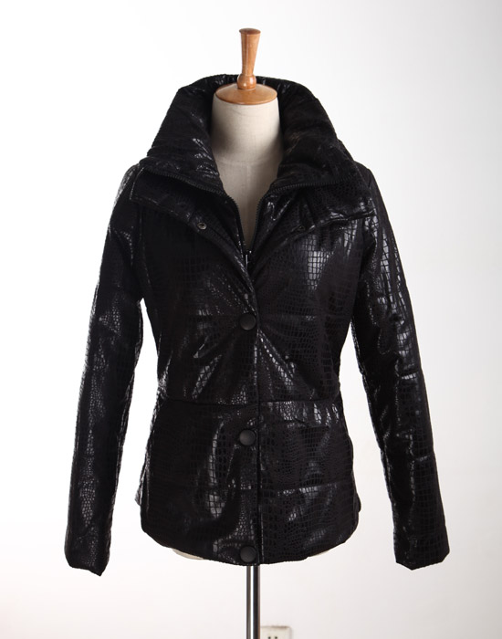Winter clothing outerwear down cotton-padded jacket top shiny winter wadded jacket cheap clothes china women dress ...