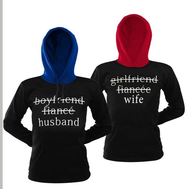 female Male grey anime Hoodie Sweatshirt Jacket Coat clothes Autumn winter  brand Print KING Queen COTTON women Men love Couple