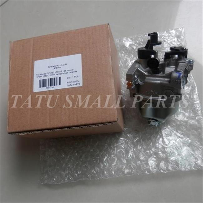 US $22 24 25% OFF|CARBURETOR ASSY 18MM FITS GXV160 4 STROKE 163CC 5 5HP  VERTICAL SHAFT 4 STROK FREE SHIPPING CARB HR* 216 196 LAWN MOWER PARTS-in  Tool