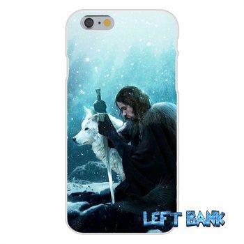 Jon Snow Game of Thrones GOT Slim Silicone Case For Huawei G7 P8 P9 p10 Lite 2017 Honor 5X 5C 6X Mate 7 8 9 Y3 Y5 Y6 II