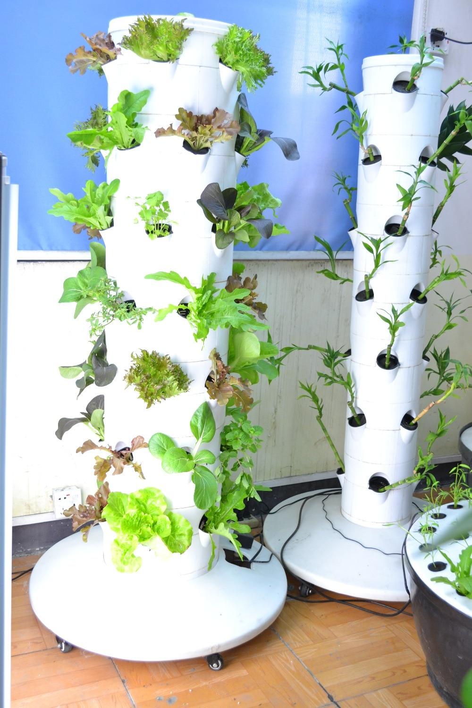 2015 NEW Hydroponics Grow Tower Garden System Aquaponics System 4*7 40L  Water Tank On Aliexpress.com | Alibaba Group
