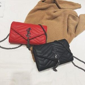 Image 2 - Luxury Handbags Women Bags Designer Shoulder Vintage Velvet Chain Evening Clutch Bag Messenger Crossbody Bags Borse da donna