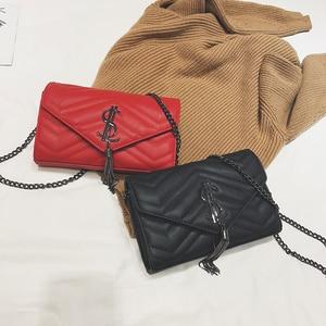 Image 2 - Sacs à main de luxe femmes sacs à bandoulière design Vintage velours chaîne soirée pochette sac messager sacs à bandoulière Borse da donna