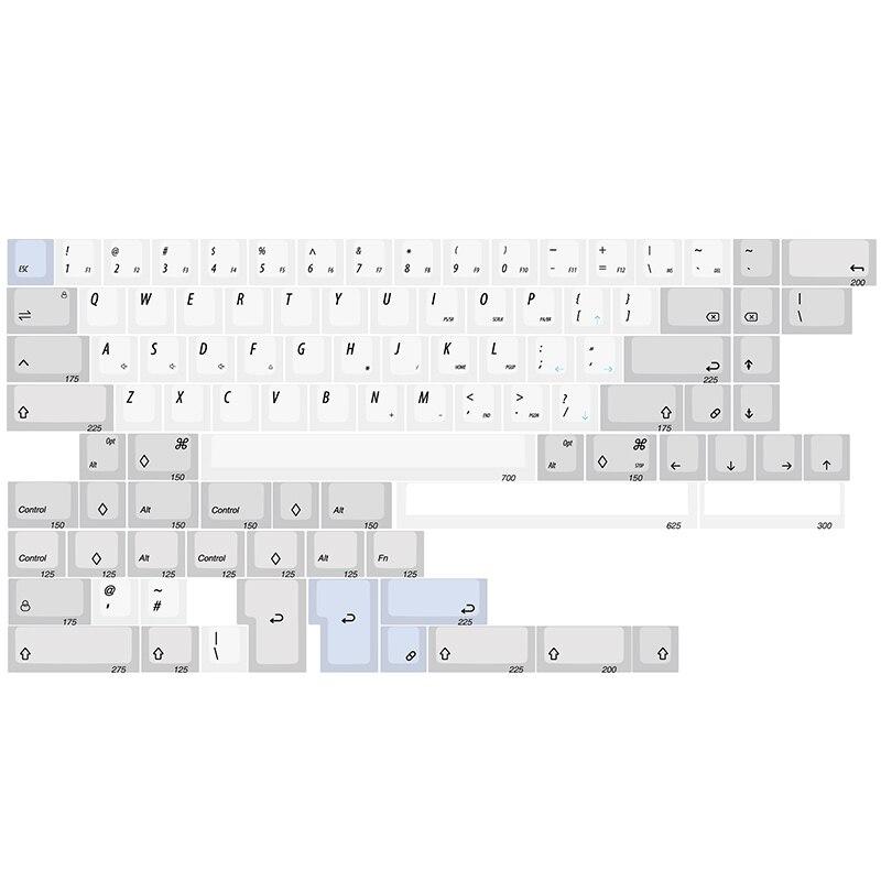Kbdfans In Stock R1 XDA Dye-sub 60% 65% Keycaps
