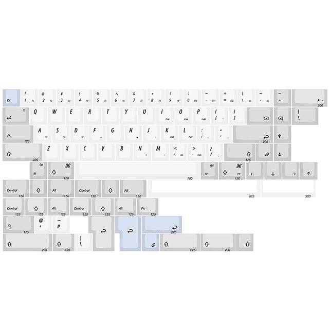Kbdfans במלאי R1 XDA צבע תת 60% 65% Keycaps