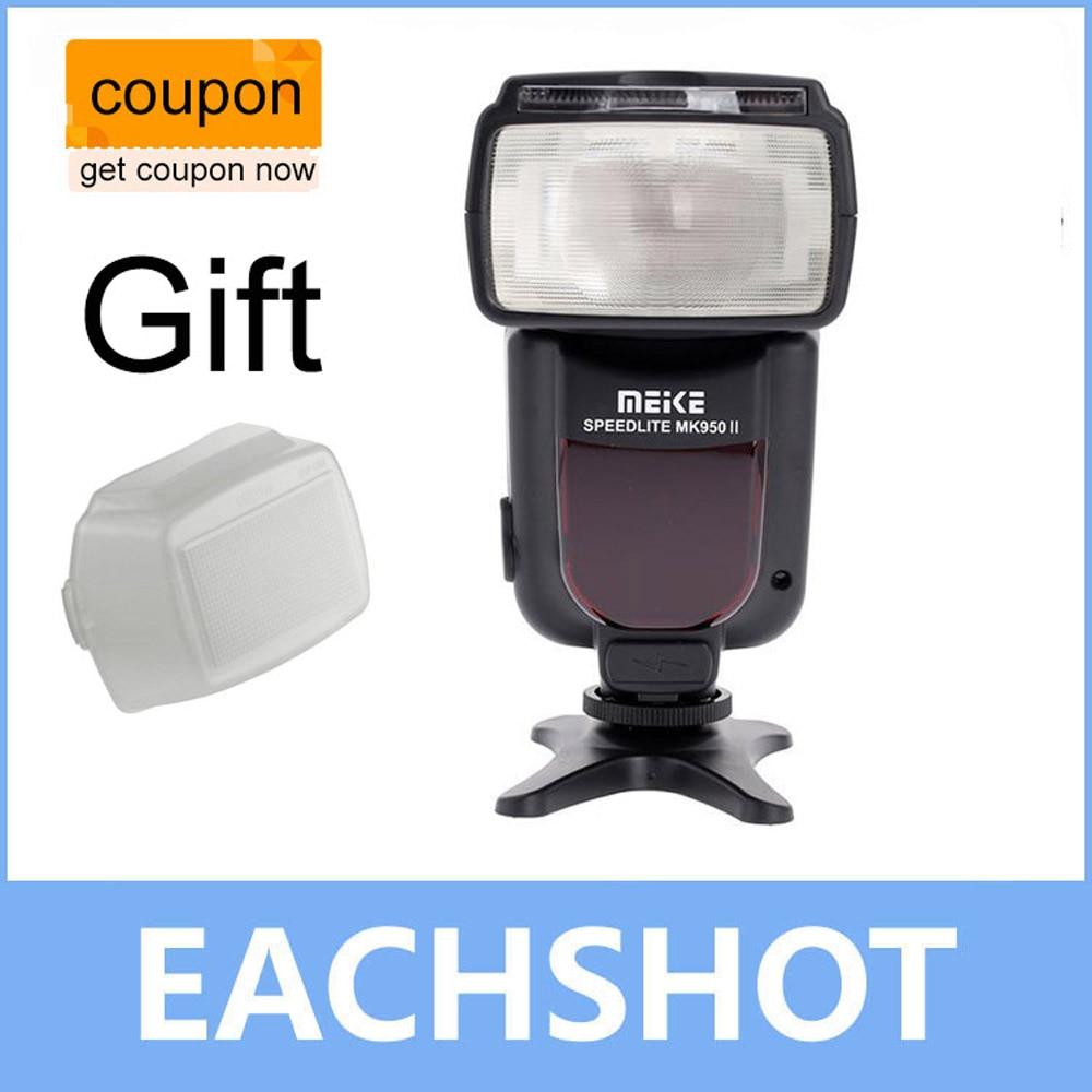 Meike MK-Mark II i-TTL ttl MK-950N II flash Lampeggiatore Speedlite per Nikon D610 D7100 D5100 D3200 D810 D80 Come Yongnuo YN-565EX