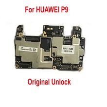 Unlocked Original Motherboard For HUAWEI P9 3GB RAM 32GB ROM Mainboard Android O