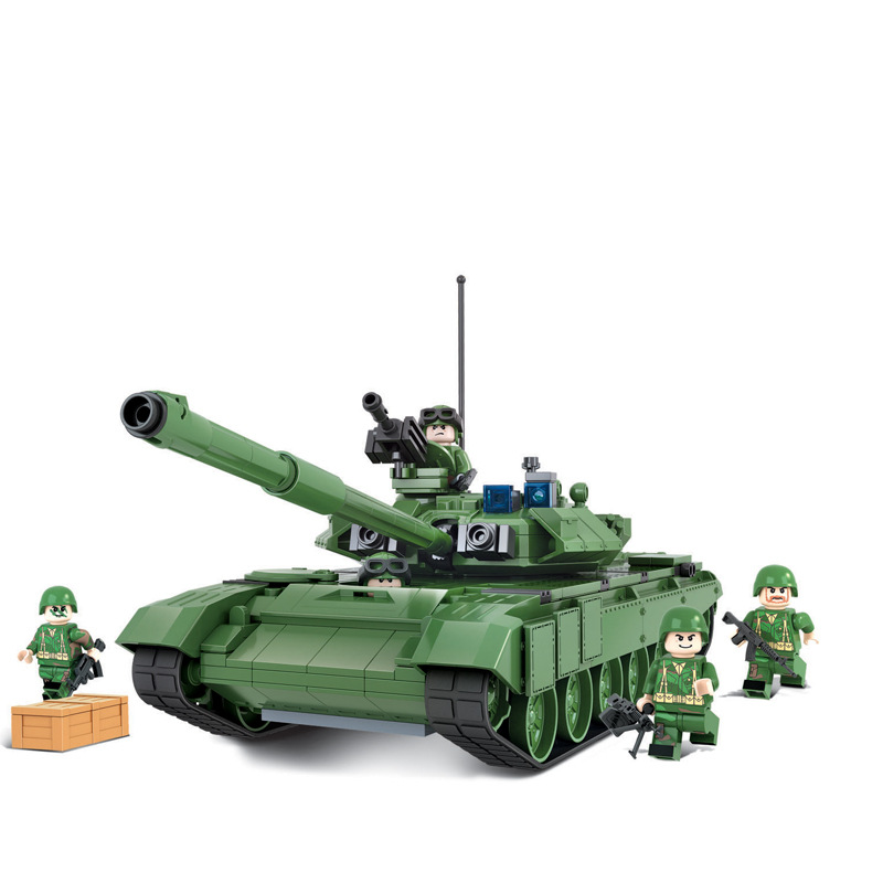 ФОТО New c Military Tank series the T-90A main battle tanks model Building Block Classic toys holiday gift