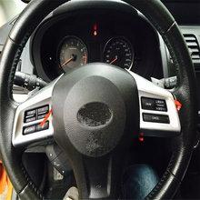 Welkinry Авто Крышка Стайлинг для subaru xv 2013 2014 2015 abs