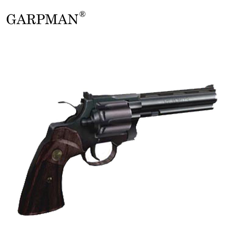 1:1 Revolver Python Gun 3D Paper Model DIY Papercraft Toy